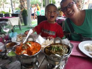 Indian food in El Campello
