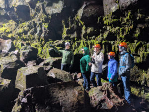 Raufarholshellir lava tube guided tour